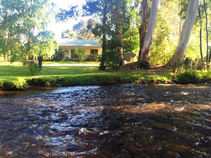 RIVER COTTAGE Absolute River Frontage, Buxton – semesterbostad i Narbethong