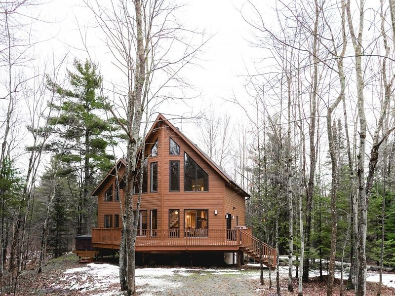 Chalet Le Fitchbay - Au coeur des cantons de l'est, holiday rental in North Hatley