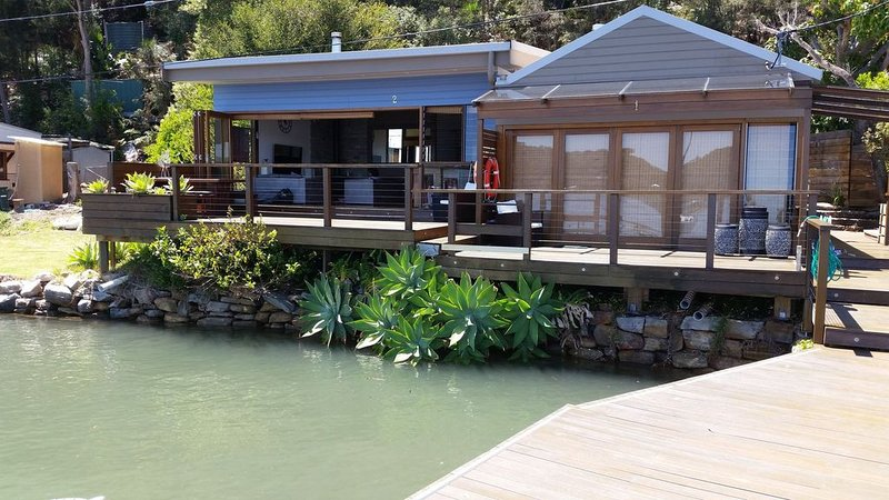 Absolute Waterfront: Turners River House Hawkesbury River.WOBBY BEACH, casa vacanza a Berowra Waters