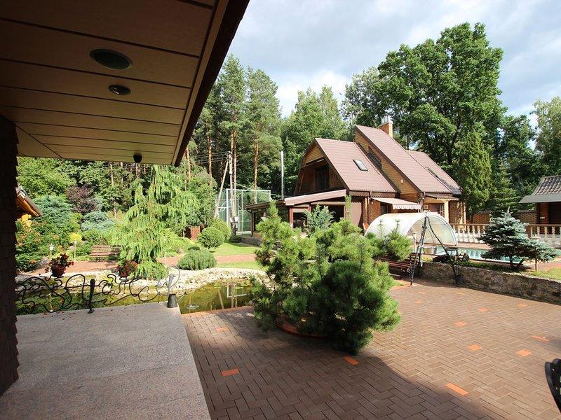 KAuno marios lake,Garden,geologic trail,18 km from KAUNAS CENTER., alquiler vacacional en Condado de Kaunas