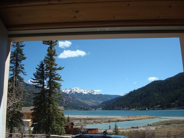 The Sleeping Ute - Beautiful View of the Lake and Surrounding Mountains, holiday rental in Lake City