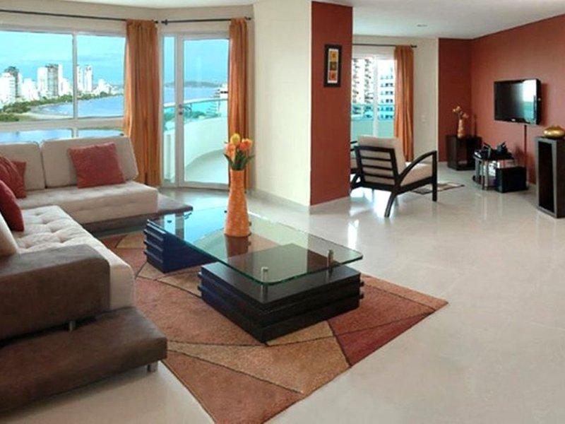 Penthouse Torres Del Lago, location de vacances à Bocachica