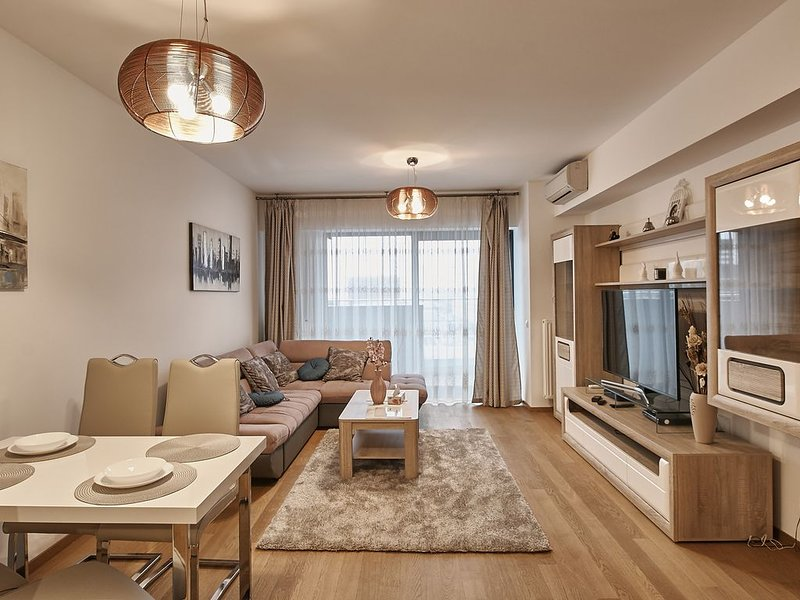 Upground Residence Apartment, aluguéis de temporada em Ilfov County