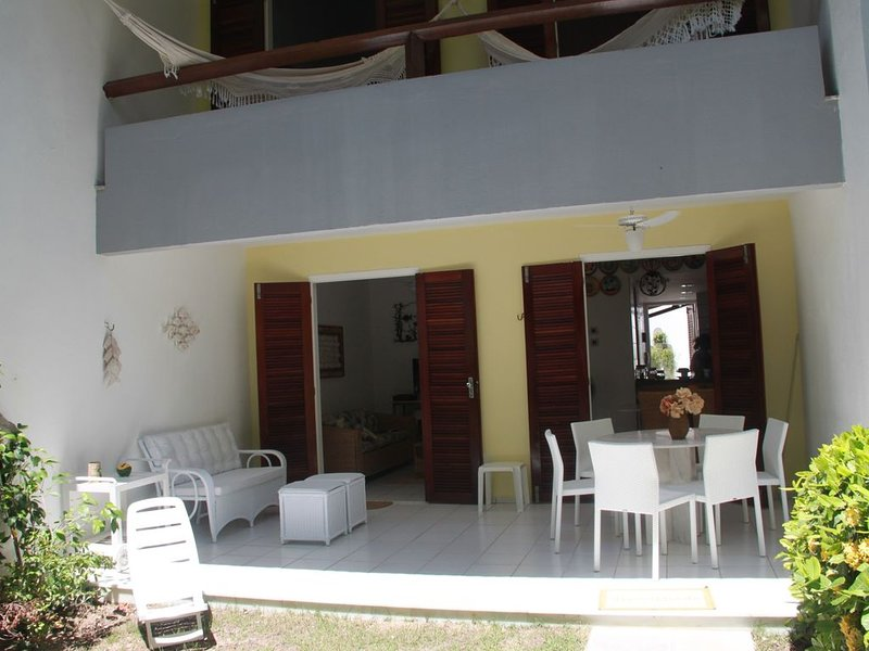 Tamandare - Beira Mar - Linda Casa - 2 suites, holiday rental in Barra Grande