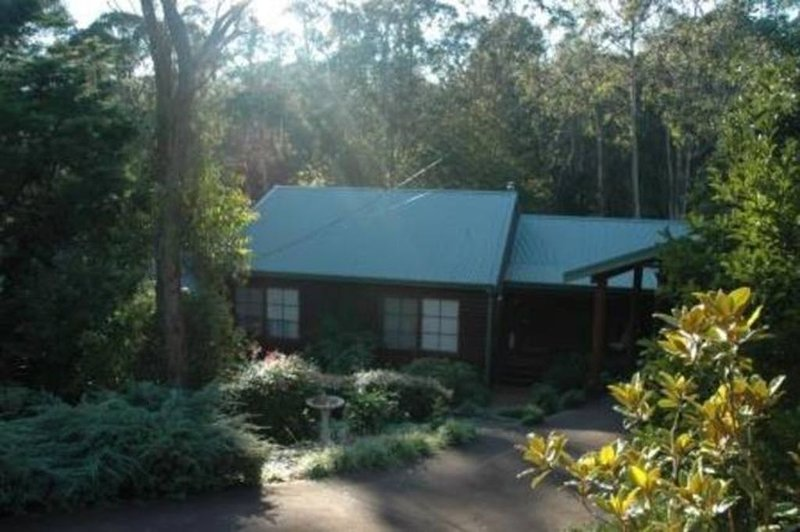 Bluebell Cottage set amongst the trees which attract many native birds., holiday rental in Leura