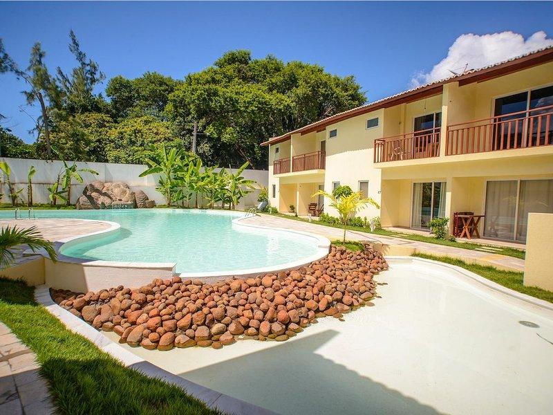 Flat completo e bem localizado no Solar Água Pipa por Carpediem, location de vacances à Tibau do Sul