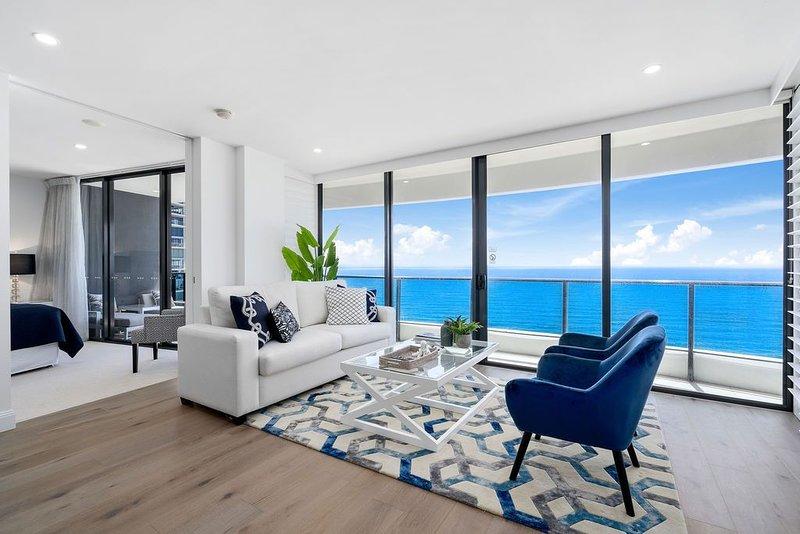 ⭐� Luxurious Level 35 Ocean Suite Panoramic Views �⭐, alquiler de vacaciones en Broadbeach