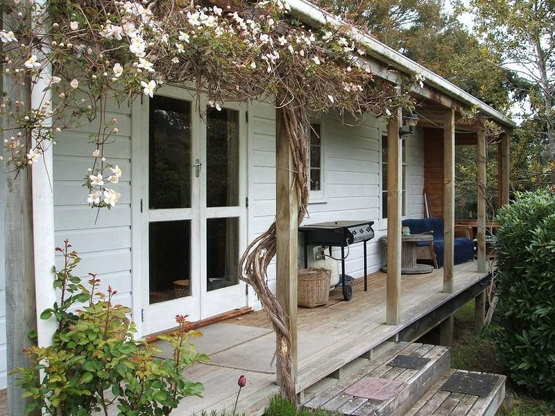 TREE COTTAGE charming, secluded, 20 mins from town, casa vacanza a Otago Region