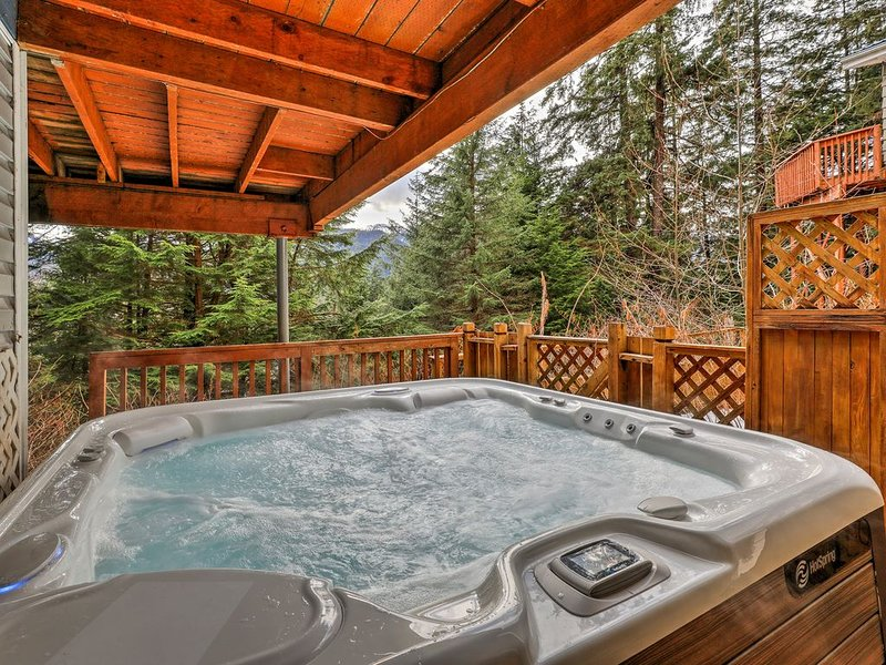 Juneau Escape/Mendehal Glacier~Professionally sanitized, casa vacanza a Douglas