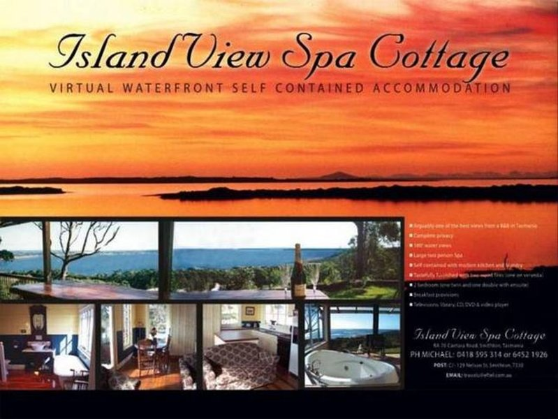 Island View Spa Cottage, holiday rental in Stanley