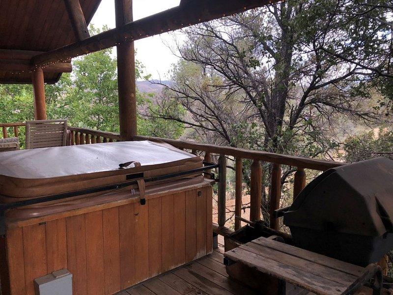 Chaparral & Country Garden Suite, alquiler vacacional en Mayer