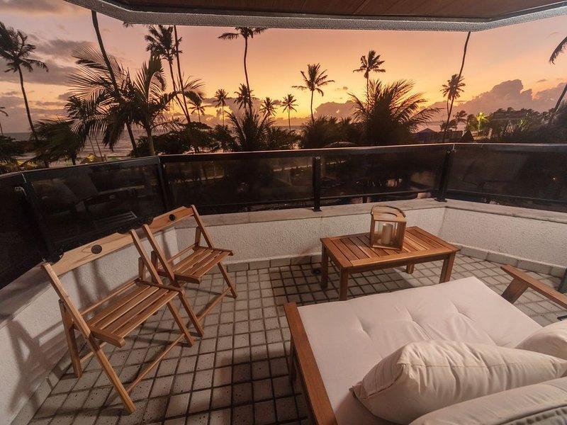 Flat moderno com vista deslumbrante em Jatiúca!, location de vacances à Maceio
