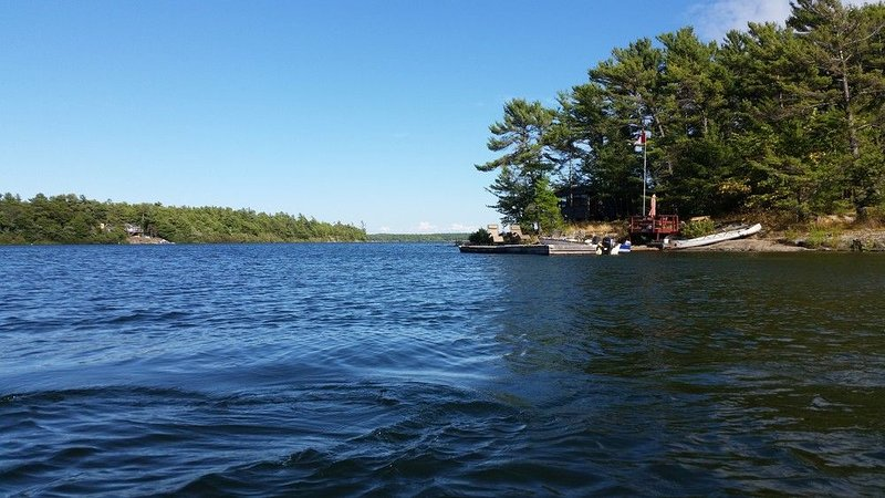 Private Island Pointe Au Baril, holiday rental in Nobel