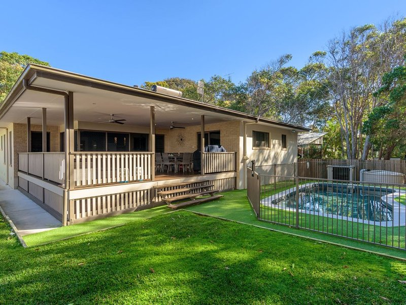 7 Ibis Court - Spacious family home with large outdoor area, swimming pool & amp – semesterbostad i Gympie Region
