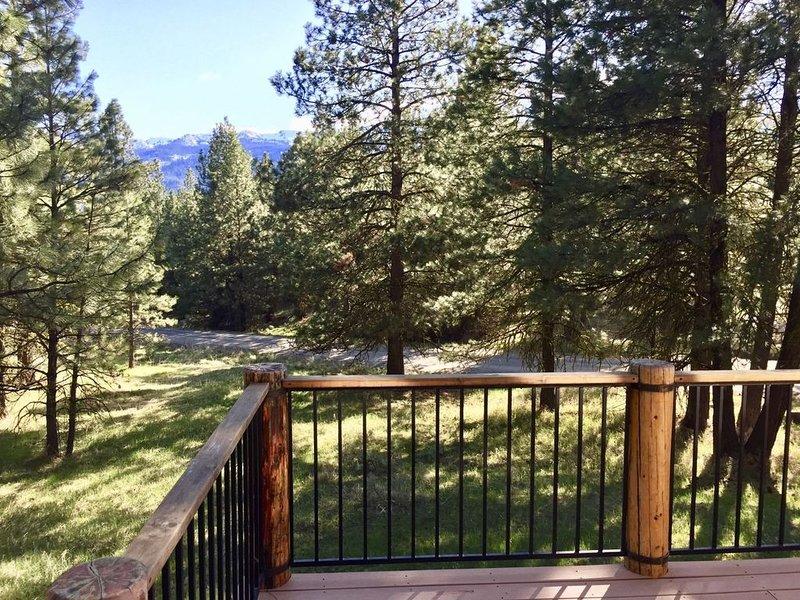 Blumisalp  - Quintessential Idaho Log Cabin, alquiler de vacaciones en Cascade