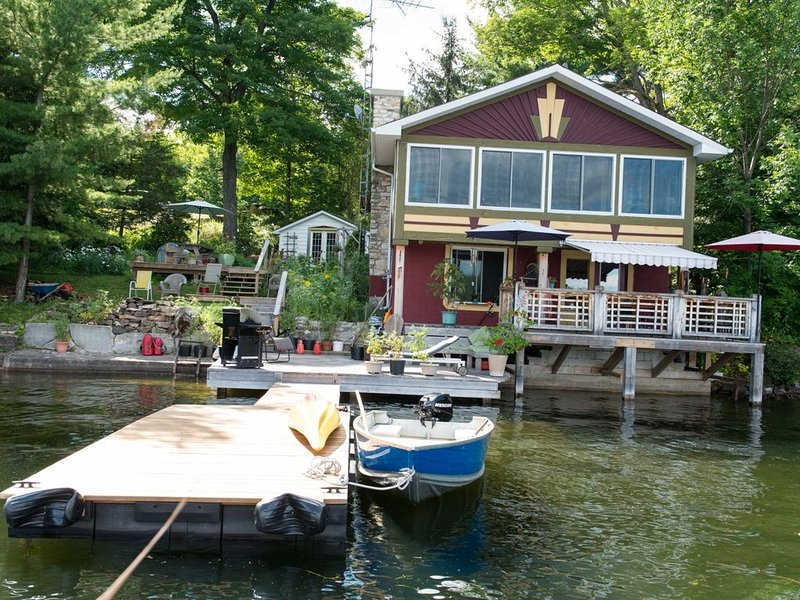 The Boat House on Pike Lake – semesterbostad i Westport