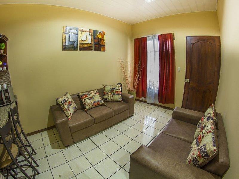 3 Volcano View, fully equipped apartment, aluguéis de temporada em La Fortuna
