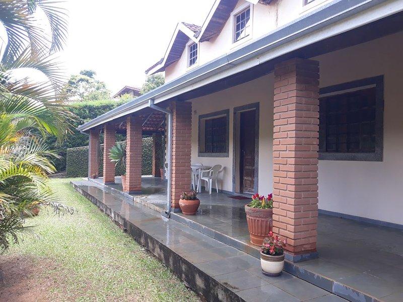 Recanto dos Gerânios - Condomínio Village Serrano-São Bento do Sapucaí, casa vacanza a Sao Bento do Sapucai