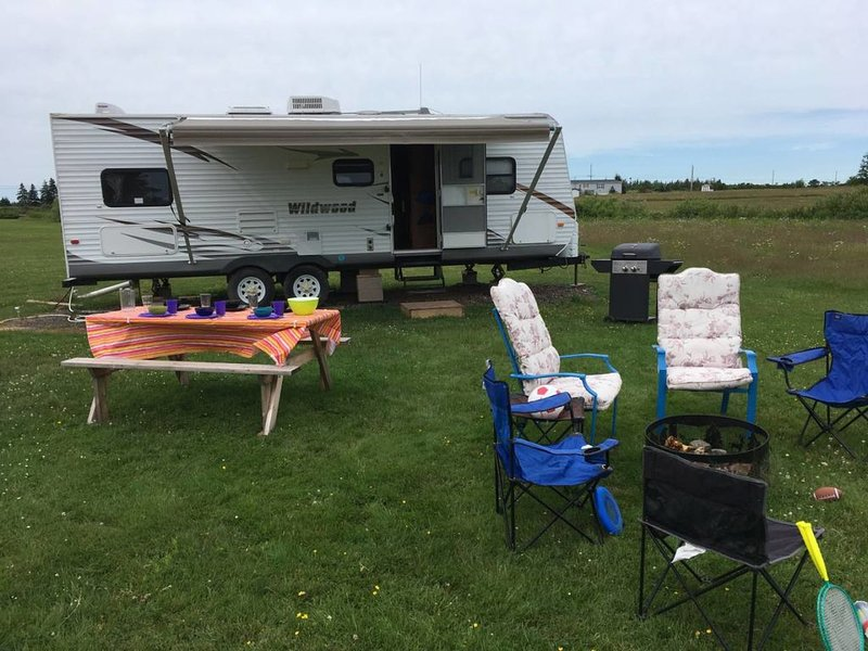 Seafoam Shore Trailer, holiday rental in Pictou