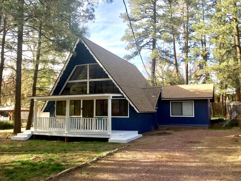 Newly Remodeled A-Frame Cabin in the Pines, holiday rental in Strawberry