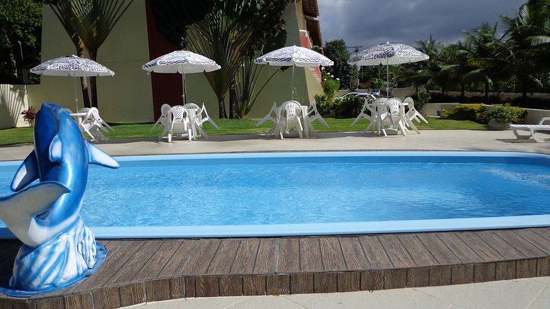 EXCELENTE VILLAGE, NASCENTE, 3 SUÍTES COM SPLITS, PRÓXIMO Á PRAIA, location de vacances à Jenipabu