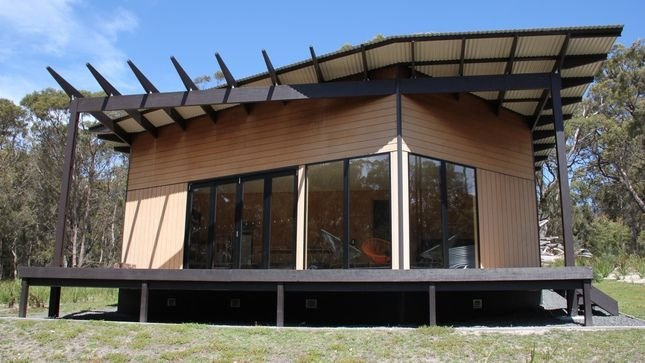 BAY OF FIRES ECO HUT Binalong Bay, casa vacanza a Ansons Bay