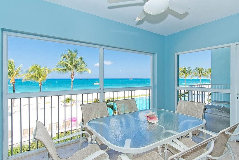 Luxury rental on Seven Mile Beach | Beachfront Condo #11, vacation rental in West Bay