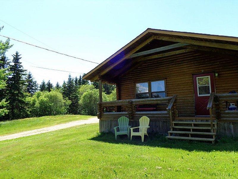 Cajun Cedar Log Cottages 1 Bdrm - Cape Breton Unit 5, holiday rental in Margaree Forks