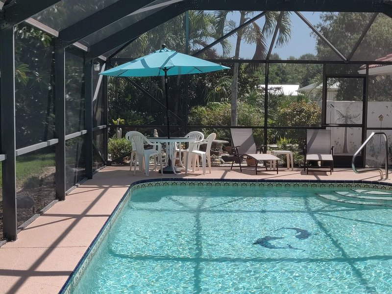 Tropical paradise getaway on the Treasure Coast (FL), vacation rental in Jensen Beach