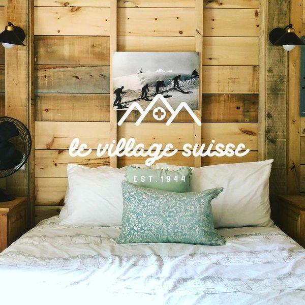 Le St-Moritz: Cottage mignon et confortable au Village Suisse Resort, au coeur d, vakantiewoning in Sainte-Agathe-des-Monts