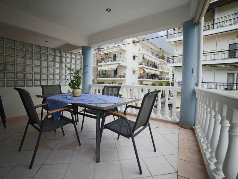 Meteora view apartment in Kalampaka center, holiday rental in Kalambaka