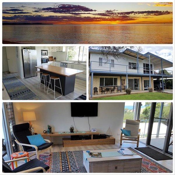 Carrickalinga Beach Retreat - luxury spa bathroom,  Wi-Fi, renovated, sea views, vacation rental in Carrickalinga