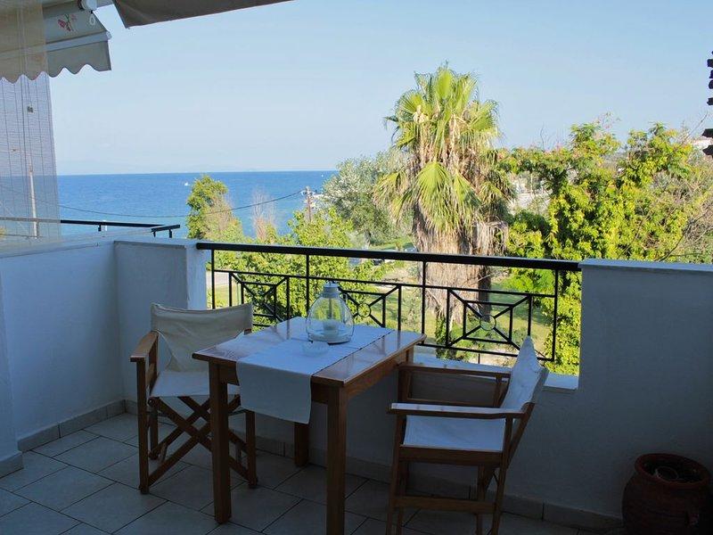 Fokais Beach Apartment, location de vacances à Afitos