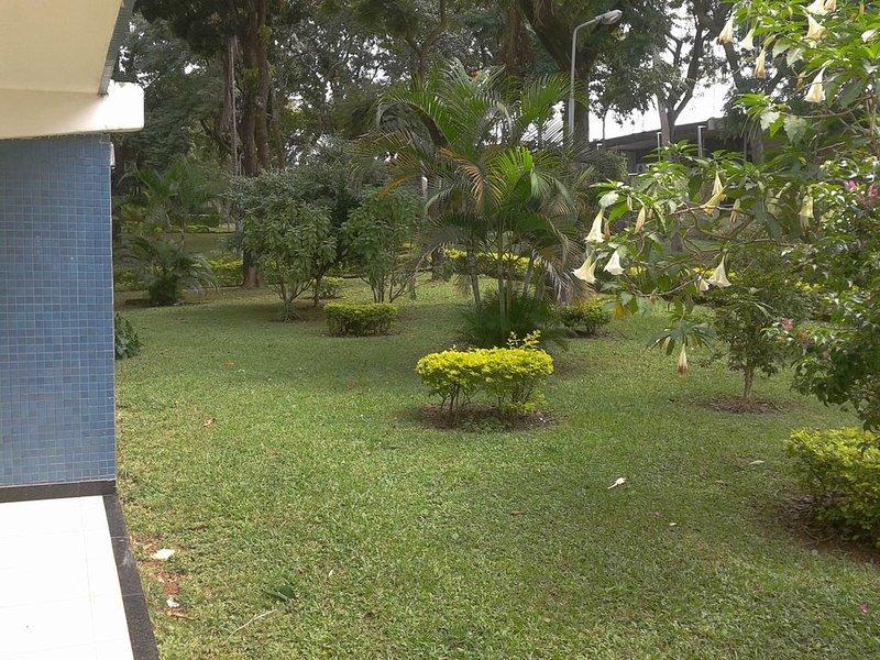 Jardim da quadra