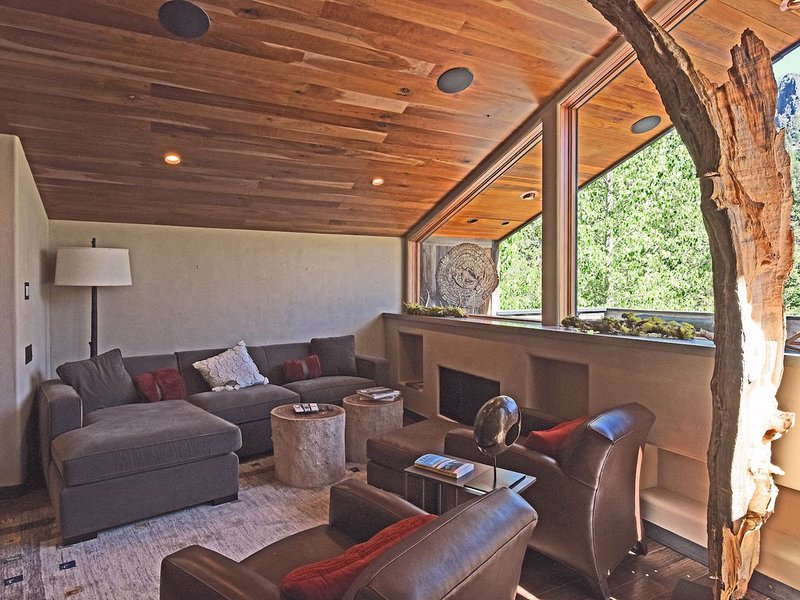 Modern Mountain Chalet, Gourmet Kitchen, BBQ Deck, Lux Bathrooms!, vacation rental in Olympic Valley