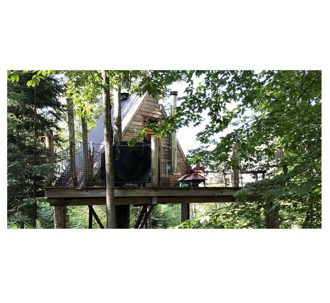 Chimo Refuges Tree House Resort - The Stella, casa vacanza a Sainte-Adele