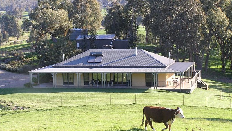 Cow Grass Lodge Jamieson - a Riverside Country Haven!, holiday rental in Mount Buller