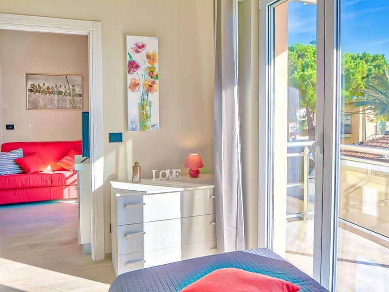 Colibrì 11 - Moderno appartamento per 4 persone in centro, vicino alla spiaggia, casa vacanza a Diano Marina