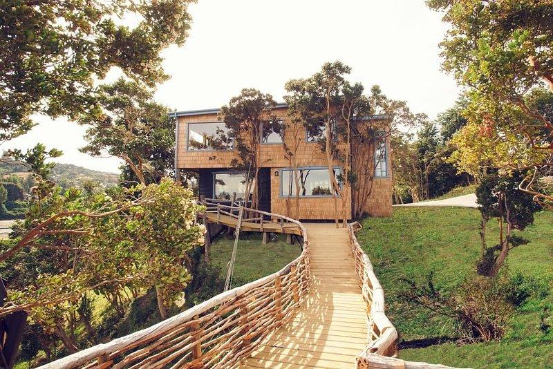 Casa del Faro Chiloé, alquiler vacacional en Dalcahue