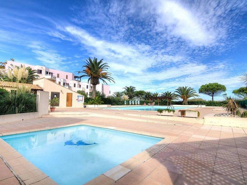 Résidence Les Capitelles Appartement vue mer, accès direct plage, casa vacanza a Saint-Cyprien