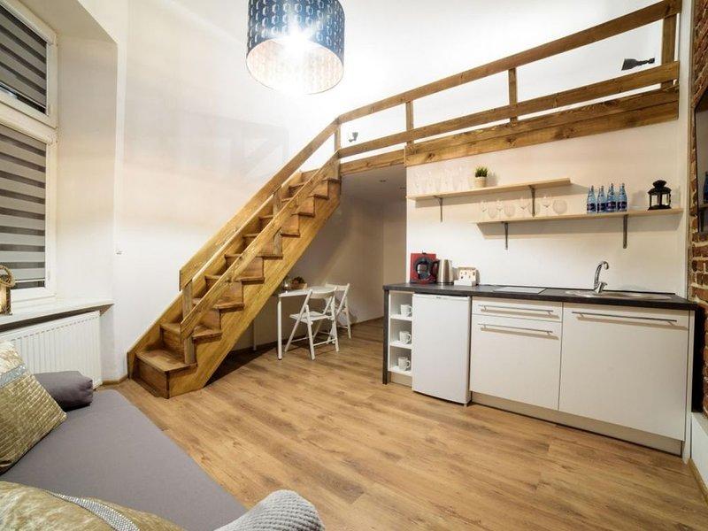 Brick 3 Apartment Krakow Old Town, casa vacanza a Wegrzce