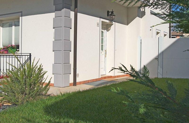 Entrance of the Colline dei Dogi apartment