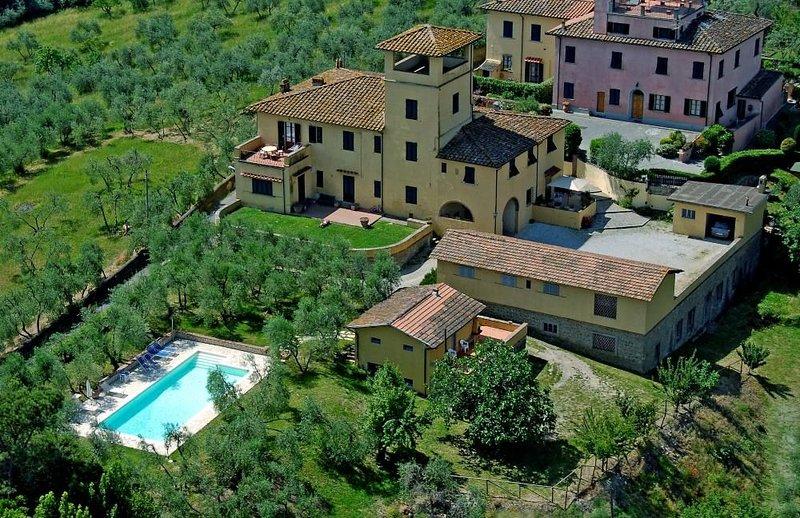 LA TERRAZZA - Appartamento in Villa dei primi del '900, vacation rental in Signa