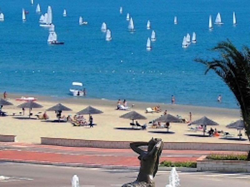 'I LIMONI 'app. A2 vista mare  con 3 camere 2 bagni/2 docce  a 30mt. spiaggia !!, vacation rental in Tortoreto