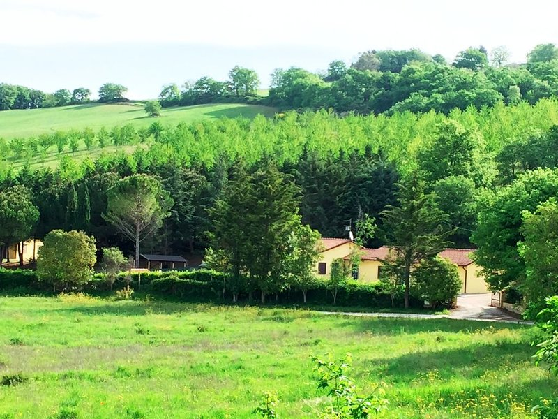Agriturismo Sotto il Colle di Assisi - Appartamento 'La Quercia' (4), location de vacances à Pianello