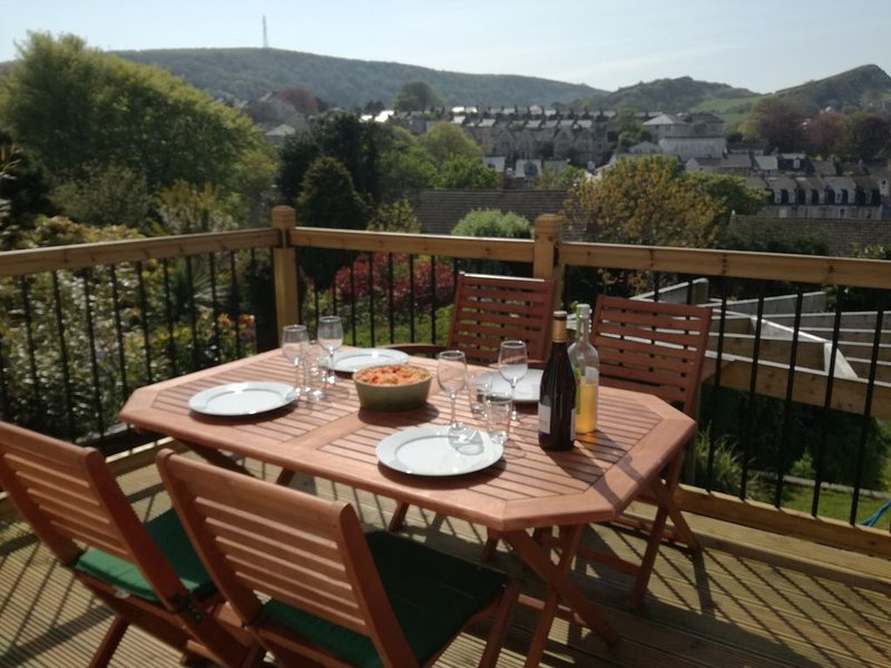 4 bedrooms family home with fantastic hills views, holiday rental in Ilfracombe