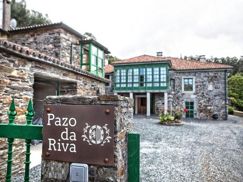 Casa independiente en Pazo Gallego cercano a la playa (Casa dos Arcos), vacation rental in Valdovino