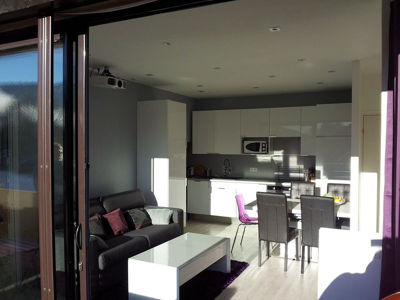 Appartement Centre Les Carroz, holiday rental in Magland