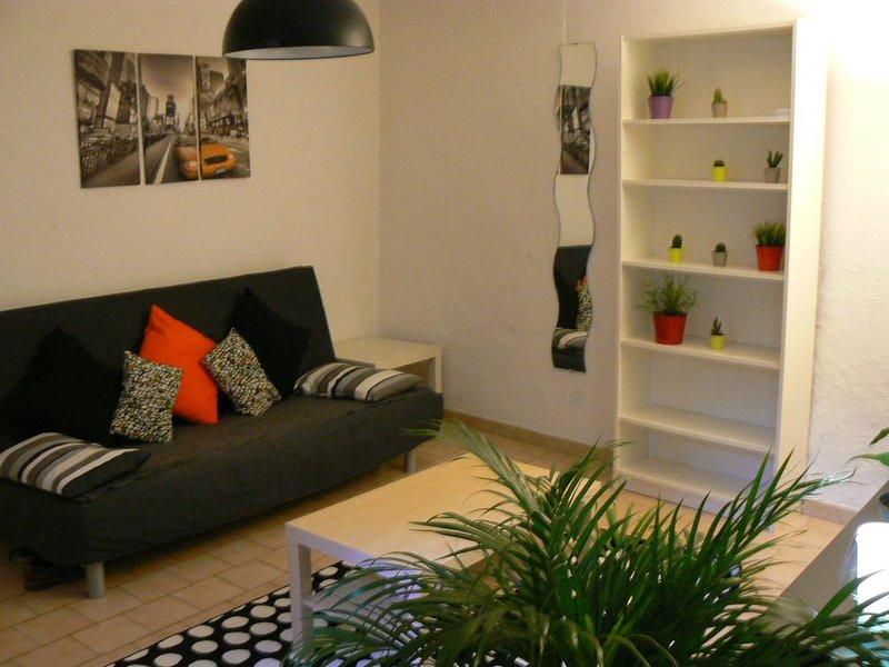 appartement au coeur du centre ville, vacation rental in Fourques