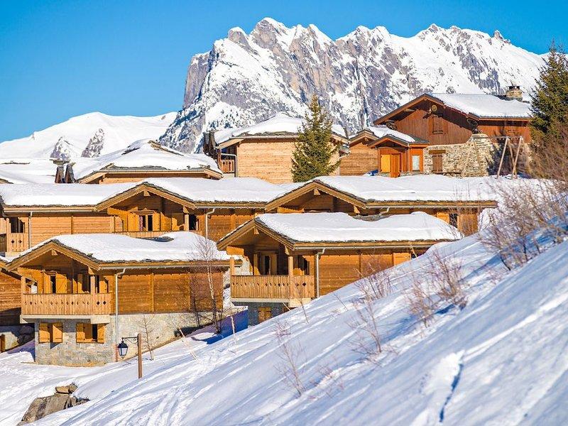 Chalet Duplex de montagne à 50m d'un accès pistes | Accès Piscine couverte + Sau, holiday rental in Saint Michel de Maurienne
